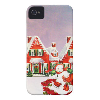 CHRISTMAS VILLAGE iPhone 4 COVER