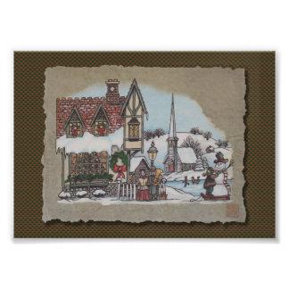 Christmas Village Photograph