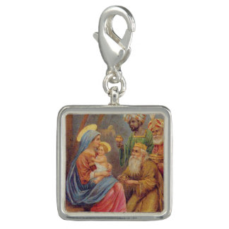 Christmas Vintage Nativity Jesus Illustration