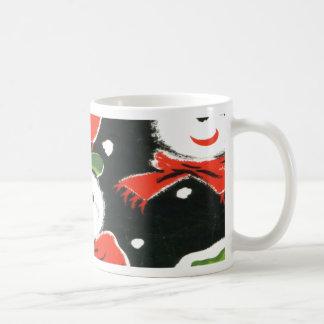 Christmas Vintage Santa's Mugs