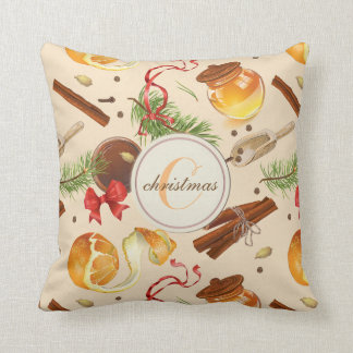 Christmas Vintage Scents Cushion
