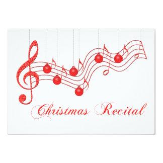 Christmas Voice Recital Card