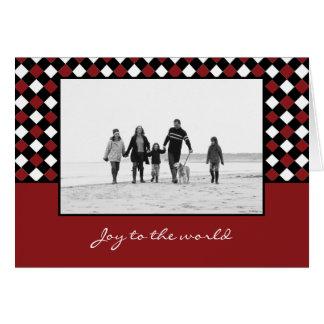 Christmas Weaves Christmas/ Holiday Photo Cards
