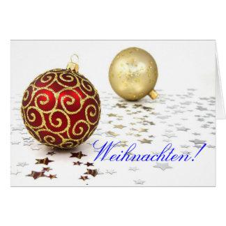 Christmas Weihnachten II Card