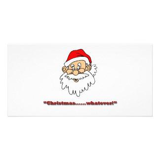 Christmas whatever! photo greeting card