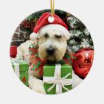 Christmas - Wheaten Terrier - Bailey Christmas Tree Ornament