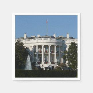 Christmas White House for Holidays Washington DC Disposable Napkin