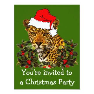 Christmas Wildcat Invites