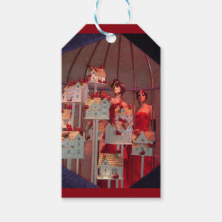 Christmas Window  in New York Gift Tags