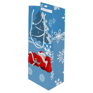 Christmas Wine Gift Bag