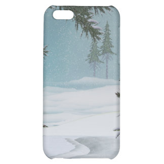 Christmas Winter Scenes Speck Case Case For iPhone 5C