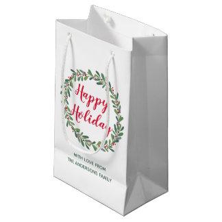 Christmas Winter Sprigs Gift Bag