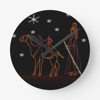 Christmas Wiseman Camel 1 2016 Clocks