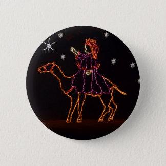 Christmas WIseman Star Camel ZZ H 2016 6 Cm Round Badge