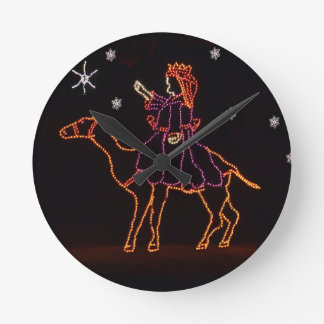 Christmas WIseman Star Camel ZZ H 2016 Wall Clock