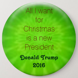Christmas wish Trump 2016 6 Cm Round Badge