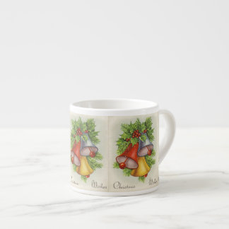 Christmas Wishes Jingle Bells Espresso Cup