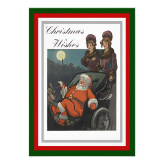 Christmas Wishes Personalized Announcements