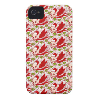 Christmas with a Frenchie iPhone 4 Case