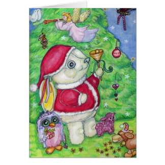 Christmas with Pookie Card