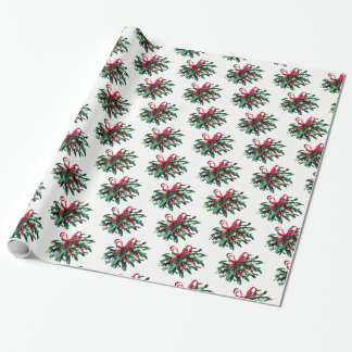 Christmas Wrapping Paper-Mistletoe Wrapping Paper
