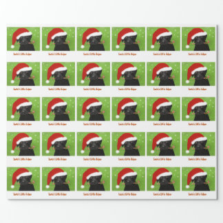 Christmas Wrapping Paper - Santa's Little Helper