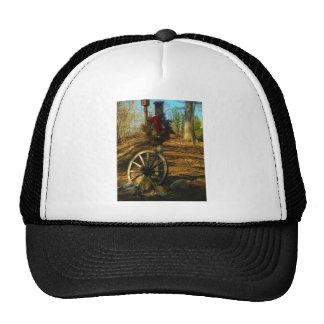 Christmas Wreath and Wagon wheel Mesh Hats