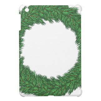 Christmas wreath case for the iPad mini