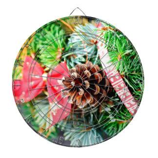 Christmas wreath decoration dart boards