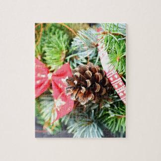 Christmas wreath decoration jigsaw puzzle