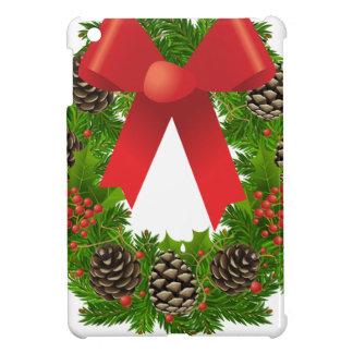 Christmas Wreath for the Holidays iPad Mini Cover