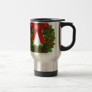 Christmas Wreath for the Holidays Mug