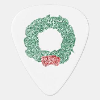 Christmas Wreath Plectrum