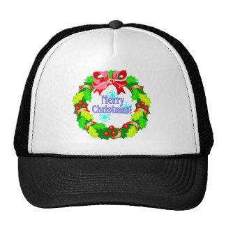 Christmas Wreath Hats