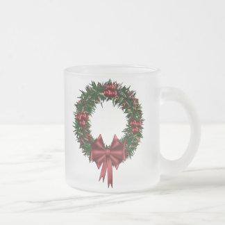 Christmas Wreath Holiday Mug