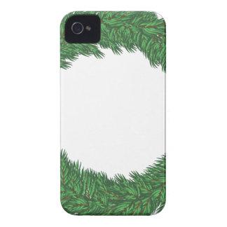 Christmas wreath iPhone 4 case