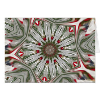 Christmas Wreath Kaleidoscope Card