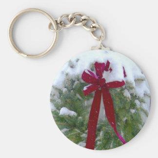 Christmas Wreath Key Ring