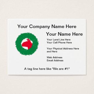 Christmas Wreath & Llama Christmas Card and more