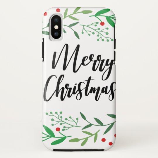 Christmas Wreath, Merry Christmas, Happy Holidays HTC Vivid Cases