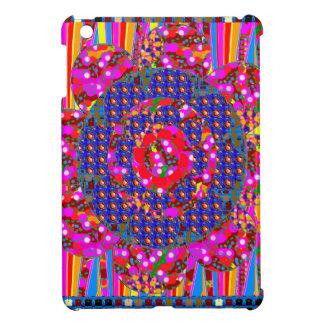 Christmas wreath style colorful graphics iPad mini cases