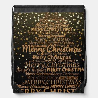 Christmas Xmas Drawstring Bag