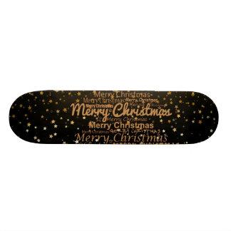 Christmas Xmas Skate Board Deck