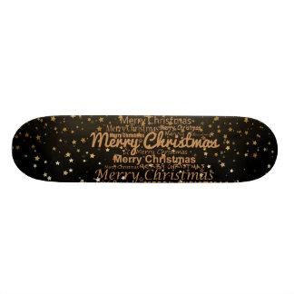 Christmas Xmas Skateboard Deck