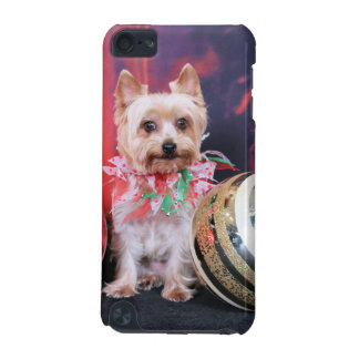 Christmas - Yorkie - Tasha iPod Touch (5th Generation) Cover