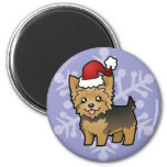 Christmas Yorkshire Terrier (short hair no bow)
