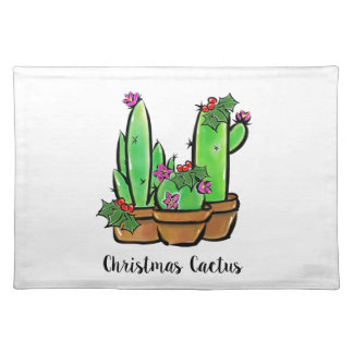 ChristmasCactus Placemat