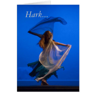 ChristmasCard, Hark... Card