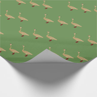 ChristmasGooses Wrapping Paper