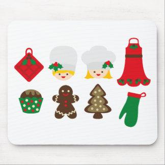 ChristmasKitchen7 Mouse Pad